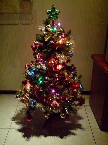 my frist xmas tree