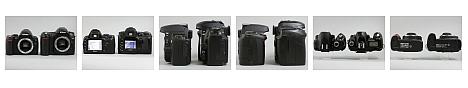 Nikon D40 vs Nikon D50 -- Size and LCD comparison