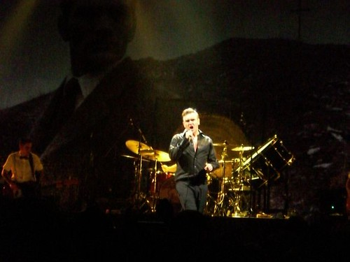 Morrissey in Hamburg, 18.12.2006, Color Line Arena