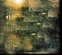 Rain in the City photo by FotoEdge
