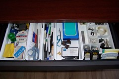 70111: I organized my desk drawer