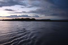 Amazonian dusk view