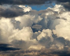 Cloud photo by Clyde Barrett