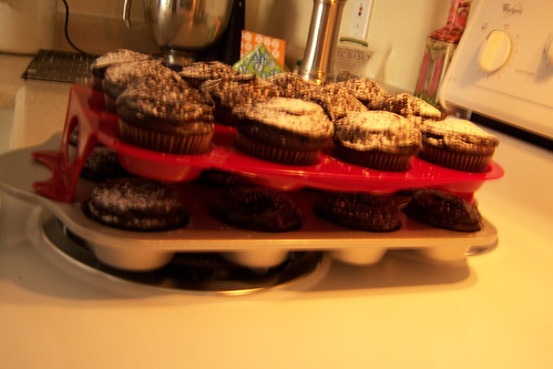 Chocolate Chipolte Cinnamon Cupcakes