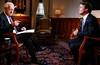 "Bob Schieffer and Sen. John Edwards on ""Face the Nation"" Set"