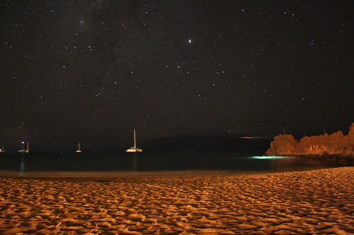 Stars from Ka'anapali Beach