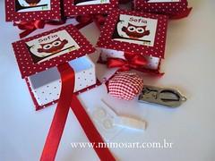 Kit costura de corujinha! photo by Mimos Art - Para mamães e noivas