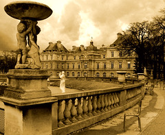 Gardens of Luxembourg. Paris.- photo by ancama_99(toni)