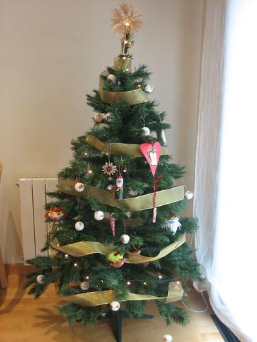 We put on the Christmas Tree!