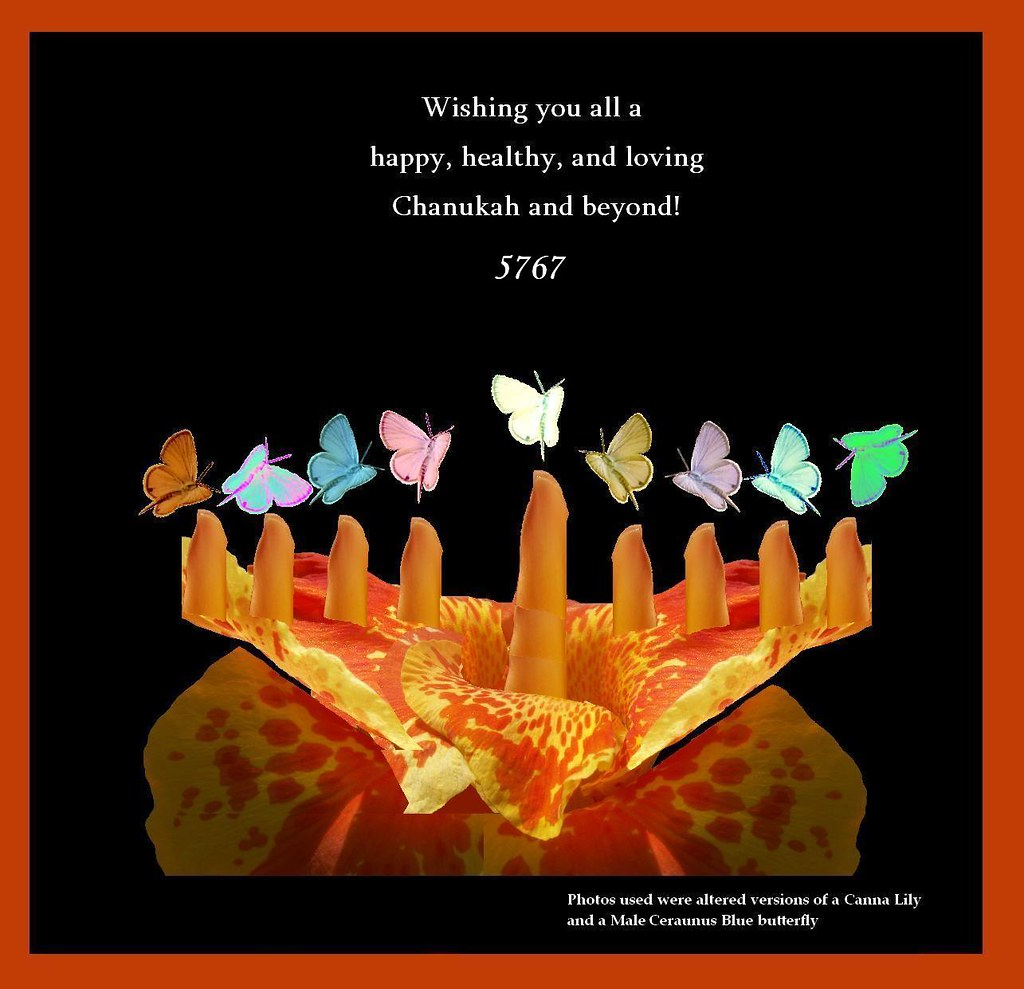 Chanukah Card 2006