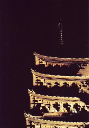 興福寺の夜景