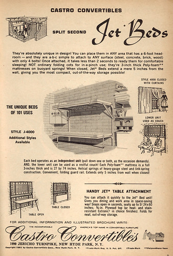 Jet Beds ad