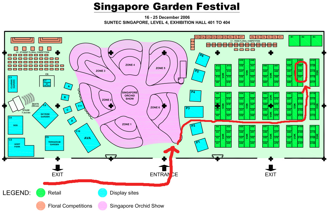 How to get to NLB SGF booth