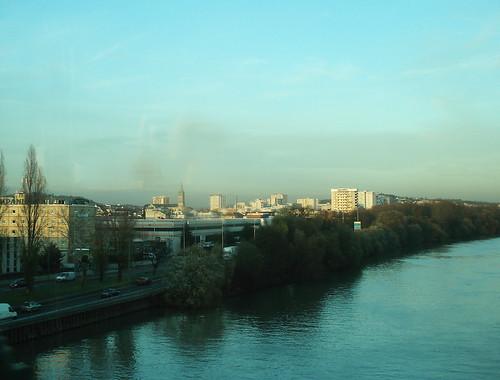 Vers Argenteuil, soir d'hiver