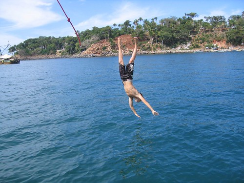 Michael rope swing