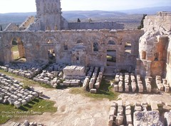 St. Simeon Cathedral Ruins. This photo is taken from the highest point in the ruins.