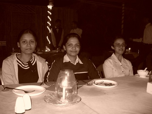 Thanuja, Shilpa and Pranjal