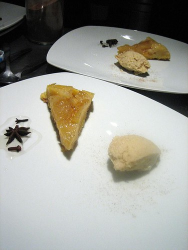 Apple Tatin with 5 Spice Gelato