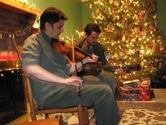 Patrick Ourceau & Eamon O'Leary perform