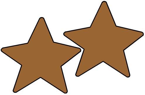 Siluetas de estrellas - Imagui