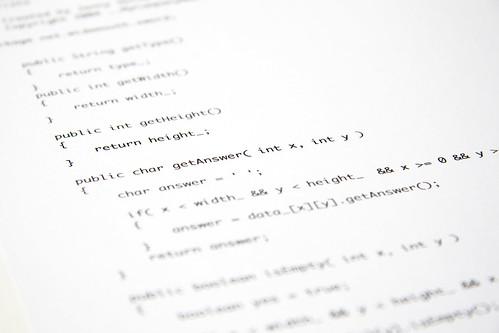 Java printout