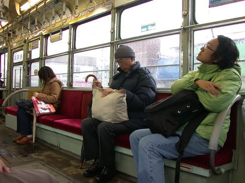 6613 路面電車上 On the Tram