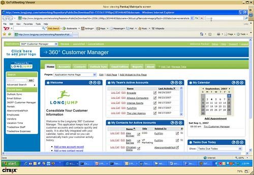 360 Customer Manager app