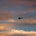 sunset + aircraft