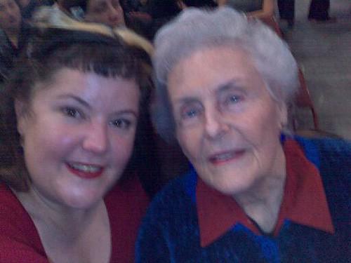 Grandma & I at the Pond