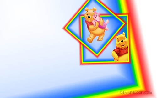 wallpaper baby pooh. Pooh amp; Piglet wallpaper