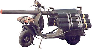 Military Vespa