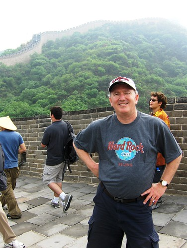 Barry on the Great Wall