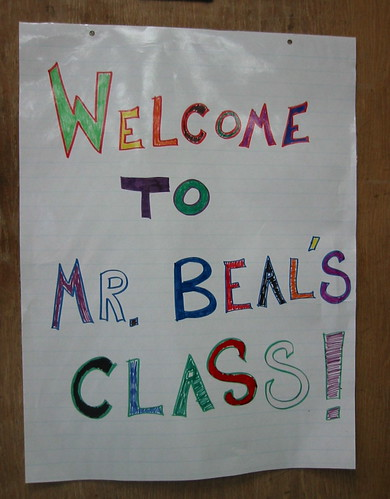 Welcome to Mr. Beal's class!