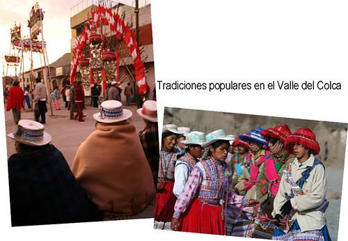 tradiciones populares en el Valle del Colca