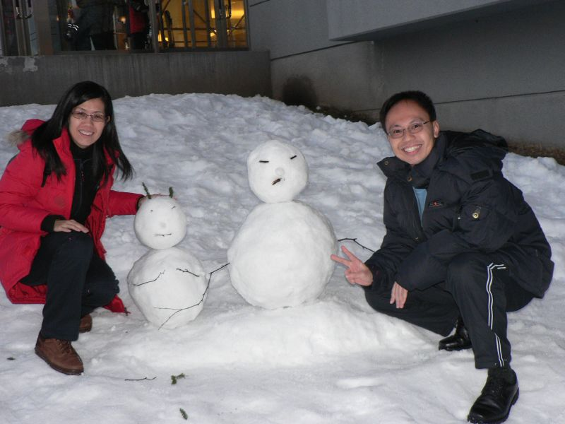 Snowmen (not ours though)