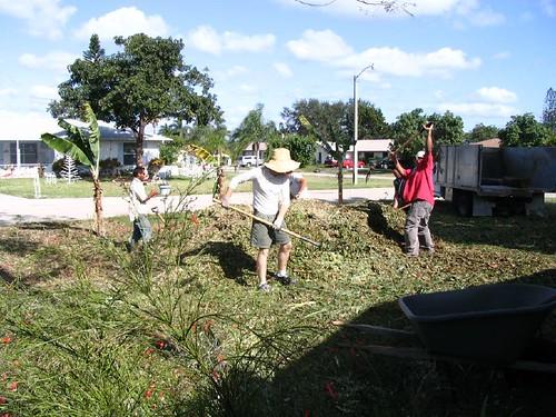 the mulching crew