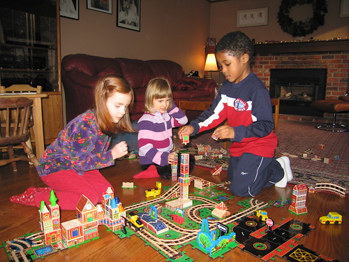 Melissa & Doug Puzzle World train set (discontinued)