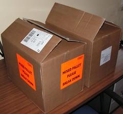 Caixas do pacote Ubuntu para a LoCo portuguesa