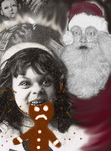 Santa's near miss