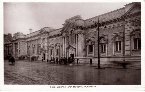 Plymouth Free Library circa 1910