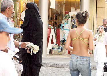 niqab vs bikini
