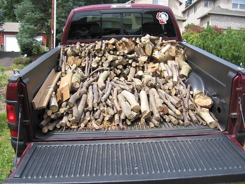 Firewood run