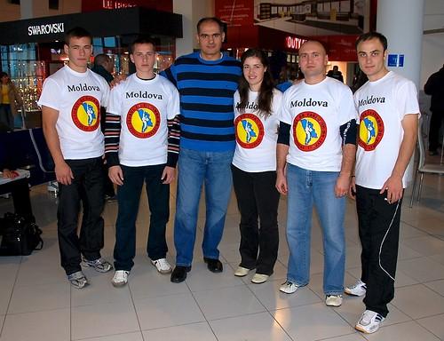 Plecarea la Campionatul de Taekwon-Do la Cipru