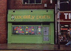 Wobbly Pat's Caff, 88 Oldham Street (closed) - Copyright Kristen Bailey