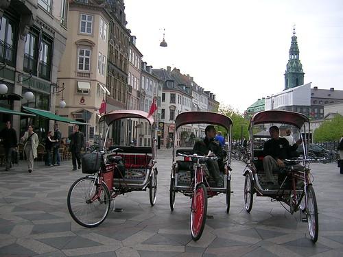 Copenhagen rickshaw's