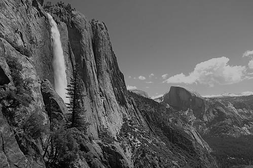 Upper Yosemite and Half Dome