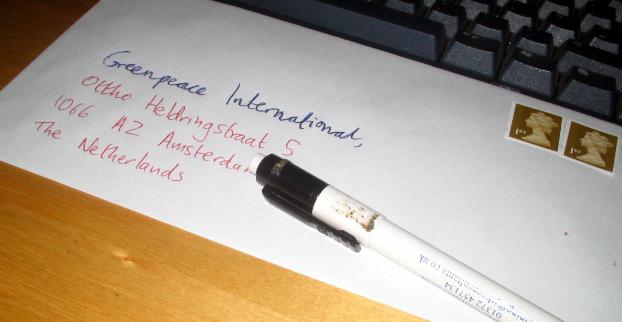 greenpeace letter
