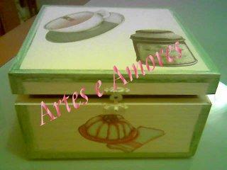 Caixa Chá Pequena