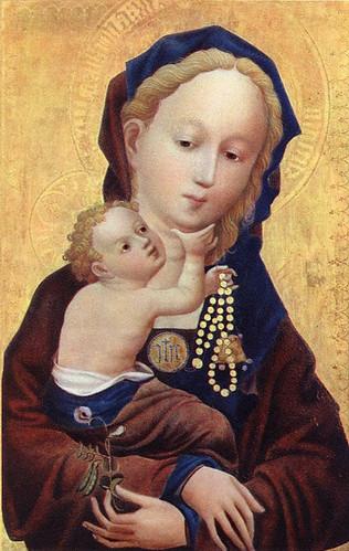Madonna der Wickenblute