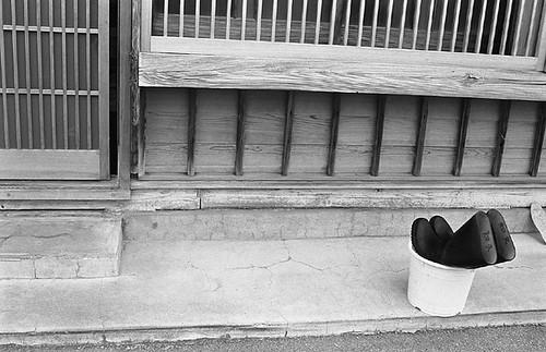 和久さんの長靴